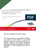 Recorrido en El CET Para Las Jornadas de Telecomunicaciones 2012 b