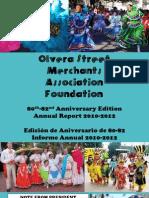 OSMAF Olvera Street Merchants Annual Report 2012