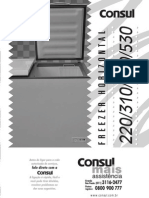 Manual freezer Consul