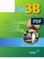 English 3B Vocabulary and Reading Teacher s Guide 2010-07-28