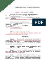 Contrato De Arrendamiento General Aguascalientes Alquiler