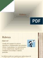 PPT RUBRICAS
