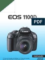 Manual CANON EOS 1100D T3 Portugues