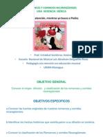 Romances y Corridos Nicaragüenses UNICA powerpoint 15diap.