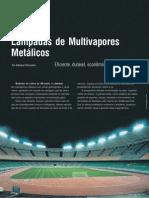 Lâmpada de Multivapores Metálicos