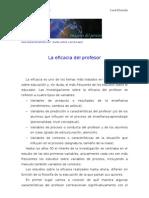 Educacion-Tema 12-La Eficacia Del Profesor.(Apuntes.examenes.psicologia.uned.Esquemas.resumen)