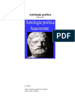 Antologia poética [Anacreonte]