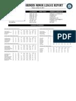 06.15.13 Mariners Minor League Report