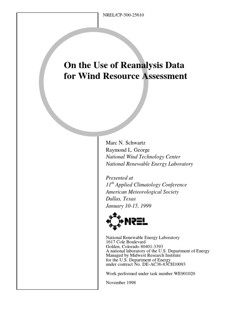 Nrel wind prediction | Wind Power | Wound