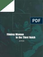 Filming Women in the Third Reich
