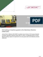 Machine Guards CE Marking