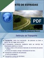 Aula1 Projeto de Estradas