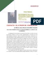 Relectura Fenomenologica de La Teoria Organismica- El Contacto Con