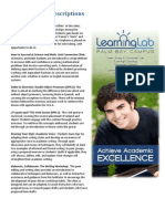 success clinic descriptions