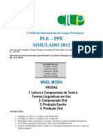 Prova 1 Compreensc3a3o Leitora e Formas Linguc3adsticas Nc3advel Mc3a9dio