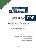 2PEB MaquinasEletricas 03 Maquinas Sincronas