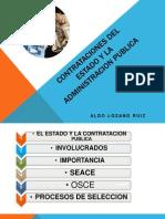 Contrataciones Del Estado y La Administracion Publica