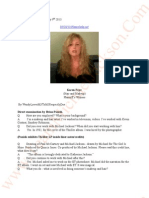 Jackson V AEGLive- May 9th Transcripts, of Karen Faye-Michael Jackson- Make-up/Hair