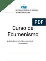 13. Modelos de Unidad Eclesial