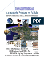 La Industri Petrolera en Bolivia