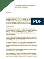 CONTESTAÇÃO por DECADÊNCIA do DIREITO de exigir INDENIZAÇÃO por VÍCIO de PRODUTO