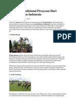 7 Lomba Tradisional Perayaan Hari Kemerdekaan Indonesia