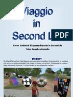 Viaggio in Second Life