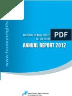 Human Rights Report Korpea