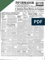 Pagina 1 El Informador El 18 de Octubre de 1957