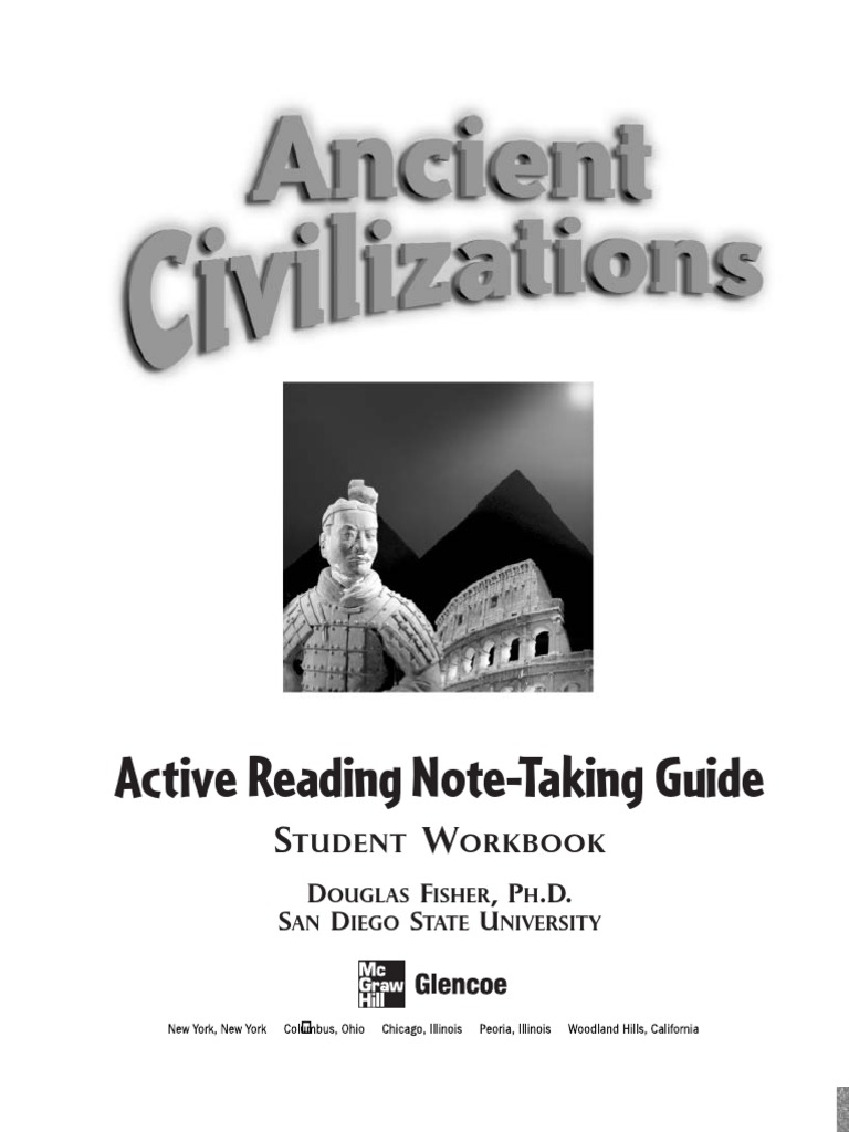 ANCIENT CIVILIZATIONS Active Reading and Note-Taking Guide G6 | David |  Ancient Egypt