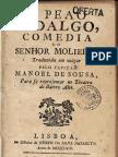 O peão fidalgo. Molière