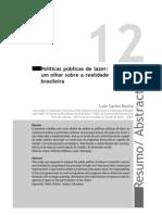 Politica Publica de Lazer- Realidade Brasileira
