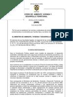 Resolucion 0909 Del 2008 Del Minambiente