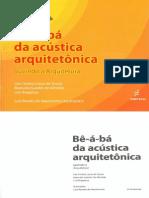 Bê-á-bá da acústica arquitetônica 1ª parte