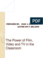 The Power of TV, Film and Video in the Classroom
