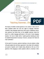 Teaching Grammar, Overtly