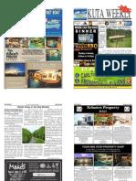 "Kuta Weekly-Edition 340 ""Bali's Premier Weekly Newspaper"""