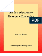 Shone - An Introduction to Economic Dynamic