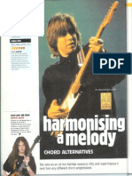 Jazz - Guthrie Govan - Harmonising a Melody; Chord Alternatives (Christmas 1999)