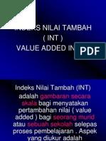 Indeks Nilai Tambah