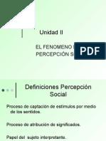 Percepcion Social