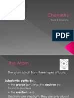 Chemistry year 8 basic ppt