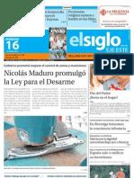 Elsiglo Eje Este Domingo 16-06-2013