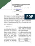 Analisa Pengaruh Inflasi Terhadap Kinerja Reksadana Saham Di Indonesia Periode 2002 - 2012