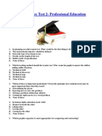 LET Practice Test 2-Professional Education