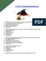 LET Practice Test 2-Professional Education