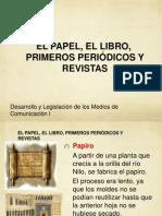Tema Papel, Libro Per y Rev