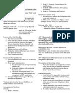 Tolentino Art 1-13 Notes