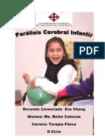 Tutoria Pasantias de Desarrollo Del Movimiento-Paralisis Cerevral Infantil-Pasantias