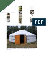 Build Yourself a Portable Home a Mongolian Yurt